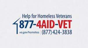 If you know a homeless veteran, call the Sioux Falls V.A. at (605) 336-3230 ext. 6135 or ask for the homeless staff at ext. 6890.