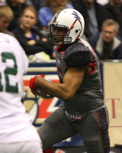 Storm QB Terrance Bryant.  Photo Courtesy of Sioux Falls Storm