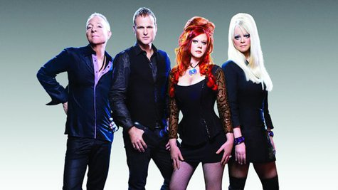 Image courtesy of Cindy Wilson, far right; Facebook.com/TheB52s (via ABC News Radio)