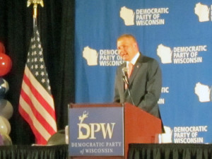 Democratic Party of Wisconsin Chairman Mike Tate.  Photo: Andrew Beckett, Wisconsin Radio Network