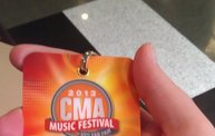 Y100 Winner Experiences The CMA Music Festival in Nashville and Sent Pictures 28
