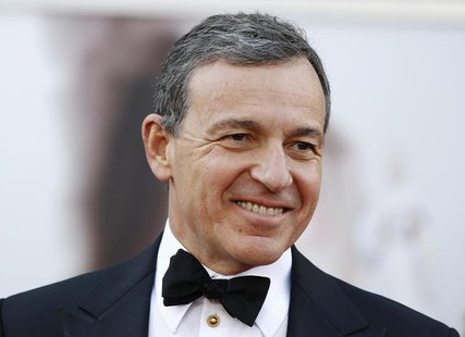 Robert Iger, chairman and CEO of The Walt Disney Company, arrives at the 85th Academy Awards in Hollywood, California February 24, 2013. REU