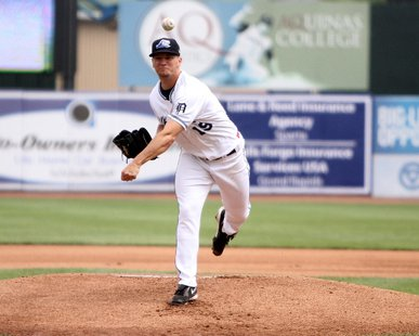 West Michigan Whitecaps LHP Jordan John (photo courtesy West Michigan Whitecaps)