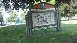 Menominee Park in Oshkosh (courtesy of FOX 11).
