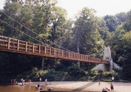 Turkey Run Suspension Bridge
