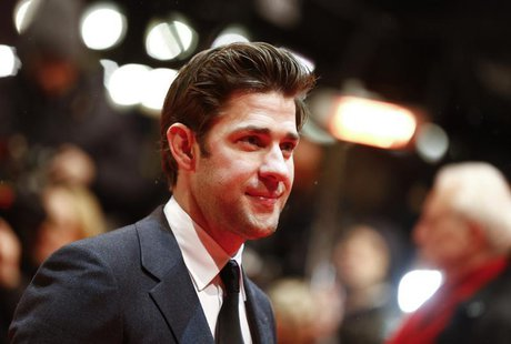 Actor John Krasinski arrives for the screening of the film 'Promised Land' at the 63rd Berlinale International Film Festival in Berlin Febru