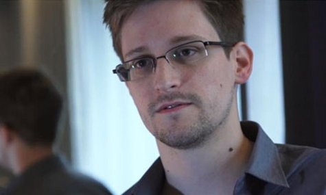 U.S. National Security Agency whistleblower Edward Snowden, an analyst with a U.S. defence contractor, is seen in this still image taken fro