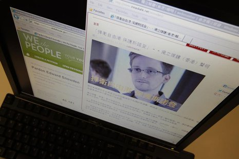 "A statement by Hong Kong online media platform ""In Media Hong Kong"" supporting Edward Snowden, a contractor at the National Security Agency"