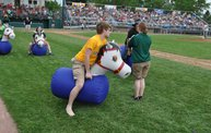 Belky with 1st pitch at Woodchucks game 6 11 13 6
