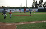 Belky with 1st pitch at Woodchucks game 6 11 13 10