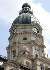 Vigo County Courthouse dome
