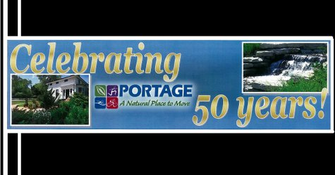 Birthday banner for city of Portage
