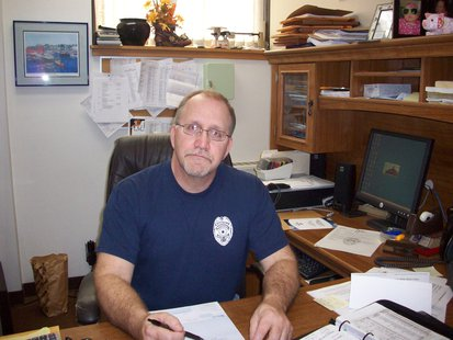 Marshfield Police Chief Gary Jepsen