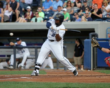 West Michigan Whitecaps 1B Lance Durham (photo courtesy West Michigan Whitecaps)