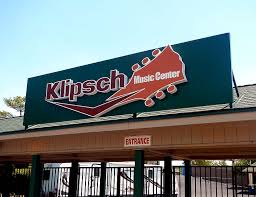 Klipsch Music Center gate in Noblesville