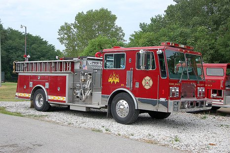 Terre Haute Fire Department Engine