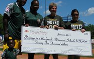 Donald Driver Charity Softball Game 2013 in Appleton with WIXX 1