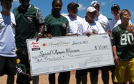 Donald Driver Charity Softball Game 2013 in Appleton with WIXX 30