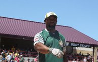 Donald Driver Charity Softball Game 2013 in Appleton with WIXX 25