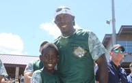 Donald Driver Charity Softball Game 2013 at Fox Cities Stadium in Appleton 4