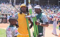 Donald Driver Charity Softball Game 2013 in Appleton with WIXX 14