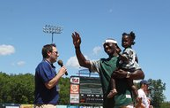Donald Driver Charity Softball Game 2013 in Appleton with WIXX 5