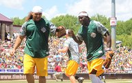 Donald Driver Charity Softball Game 2013 in Appleton with WIXX 20