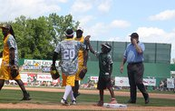 Donald Driver Charity Softball Game 2013 in Appleton with WIXX 18
