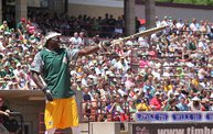 Donald Driver Charity Softball Game 2013 in Appleton with WIXX 17