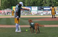 Donald Driver Charity Softball Game 2013 in Appleton with WIXX 13
