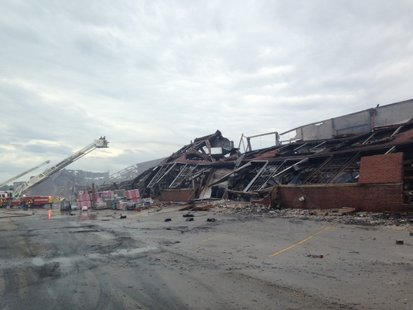 Indy warehouse fire pic 2 supplied by Indianapolis Fire Dept