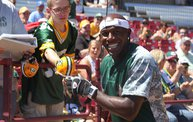 Donald Driver Charity Softball Game 2013 in Appleton with WIXX 2