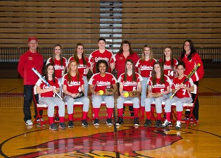 2013 Coldwater High girls softball team