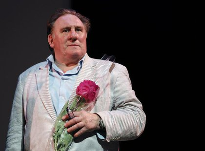 Actor Gerard Depardieu attends the first Russian Film Festival which pays a tribute to the French actor in Nice June 16, 2013. REUTERS/Eric