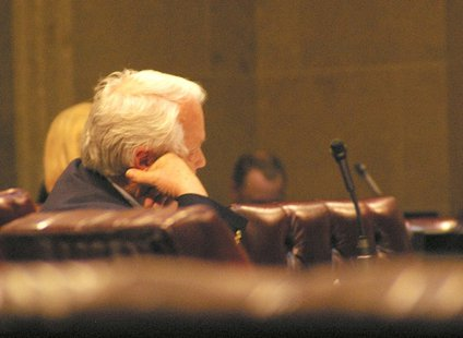 A late night vote on the budget in the Wisconsin State Senate