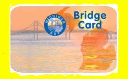 Bridge Cards were adopted by the state several years ago are used by welfare and food stamp recipients much like debit cards. Its easier and less expensive for the state to replenish the card electronically, than to mail checks and food stamps.