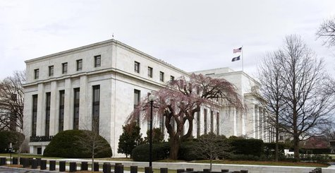 The Federal Reserve Building is pictured in Washington, March 18, 2008. REUTERS/Jason Reed