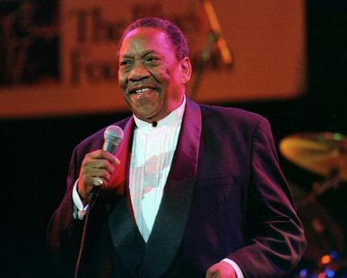 "File photo of Blues singer Bobby ""Blue"" Bland, 68, originally from Rosemark, Tennessee, at the Blues Foundation fourth annual Lifetime Achie"