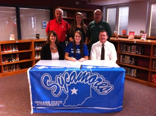 Coldwater's Breenann Spangler signs National Letter of Intent to play volleyball at Indiana State