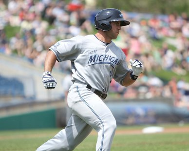 West Michigan Whitecaps OF Zach Kirksey (photo courtesy West Michigan Whitecaps)