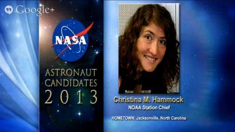 Christina Hammock Astronaut