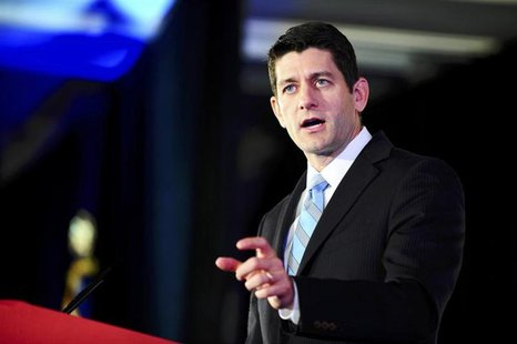 Representative Paul Ryan (R-WI) attends the Faith and Freedom Coalition Road to Majority Conference in Washington, June 14, 2013. REUTERS/Ma