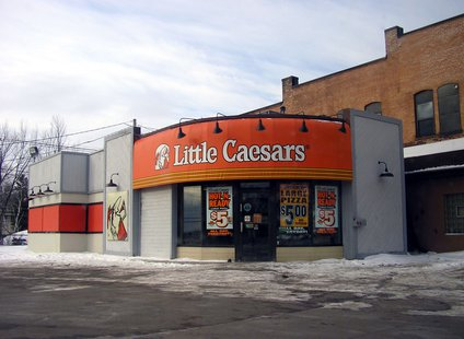 A Little Caesars location in Marquette, Michigan.