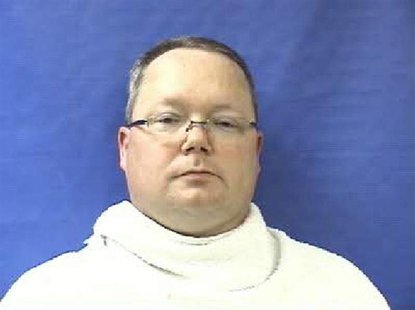 Former Kaufman County Justice of the Peace Eric Williams is pictured in this booking photo courtesy of the Kaufman County Sheriff. REUTERS/K