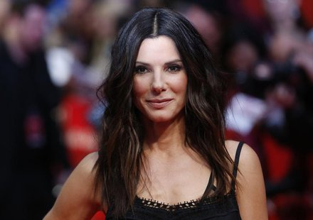 "Actor Sandra Bullock attends the UK gala screening of ""The Heat"" at the Curzon Mayfair in London, June 13, 2013. REUTERS/Olivia Harris"
