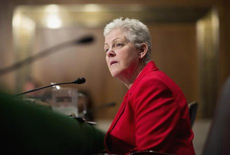 Gina McCarthy testifies before a Senate Environment and Public Works Committee hearing on her nomination to be administrator of the Environm