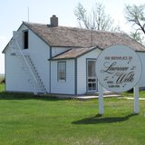 Lawrence Welk's boyhood home in Strasburg, N.D.