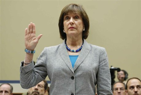 U.S. Director of Exempt Organizations for the Internal Revenue Service (IRS) Lois Lerner is sworn in to testify before a House Oversight and