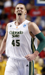 Former CSU F/C Colton Iverson. Photo Courtesy: Colorado St. University