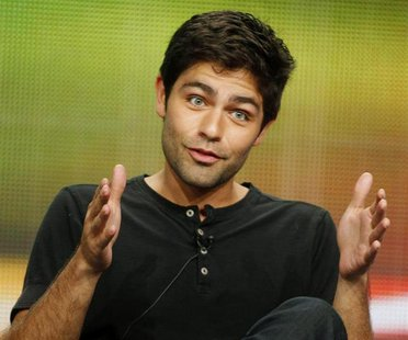 Cast member of the HBO series 'Entourage' Adrian Grenier takes part in a panel discussion about the show during the HBO session at the 2011